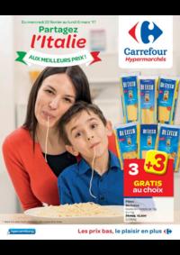 Prospectus Carrefour MONS Grands Prés : Partagez l'Italie aux meilleurs prix !