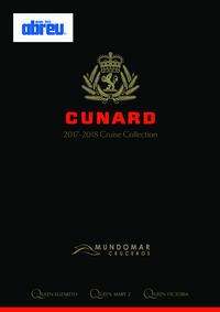 Catálogos e Coleções Viagens Abreu Almada Forças Armadas : Cunard Cruise Collection