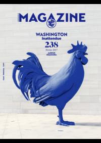 Jornais e revistas Air France Lisboa Aeroporto : Washington Inattendue
