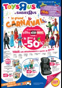 Prospectus Toys R Us VILLEBON sur YVETTE : Le grand CARNAVAL