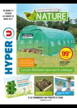 Prospectus Hyper U : Cultivons notre nature