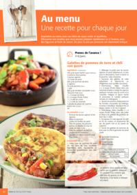 Prospectus Colruyt ANDERLECHT - VEEWEYDE : Au menu