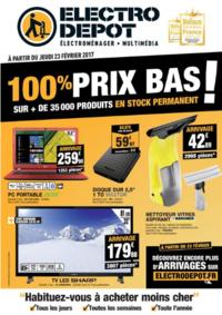 Prospectus ELECTRO DEPOT LONGUEAU : 100% prix bas !
