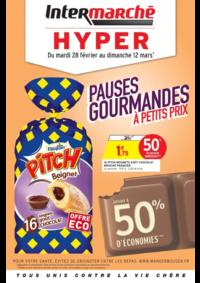 Prospectus Intermarché Hyper REDON : Pauses gourmandes à petits prix