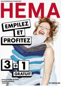 Prospectus Hema BRUXELLES Anderlecht : Empilez et profitez