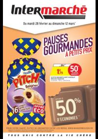 Prospectus Intermarché Super Rieux : Pauses gourmandes à petits prix