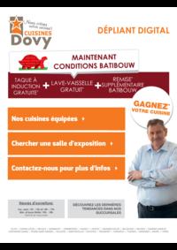 Prospectus Cuisines Dovy Grimbergen : Les cuisines équipées