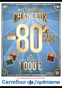 Prospectus Carrefour CHARENTON LE PONT : Les hyper chanceux