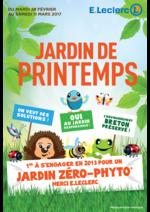 Prospectus E.Leclerc : Jardin de Printemps