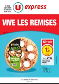 Prospectus U Express La Frette Sur Seine : Vive les remises