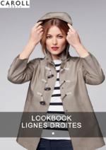 Catalogues et collections Caroll : Lookbook Lignes droites