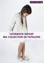 Catalogues et collections Sergent Major : Lookbook enfant Ma collection de papillons