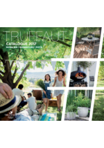 Catalogues et collections Truffaut : Catalogue 2017: Mobilier, Barbecues, Pots