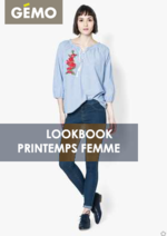 Catalogues et collections Gemo : Lookbook printemps femme