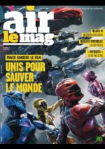 Journaux et magazines Mc Donald's : Air le Mag du mois de Mars 2017