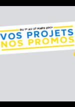 Promos et remises Castorama : Vos projets - Nos promos