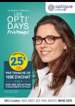 Prospectus E.Leclerc : Les opti'days printemps
