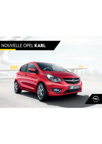 Catalogues et collections Distributeur OPEL SARL METIVIER AUTOMOBILES PERRUSSON : Nouvelle Opel Karl