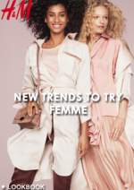 Catalogues et collections H&M : Lookbook femme New trends to try