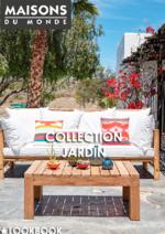 Catalogues et collections Maisons du Monde : Collection jardin