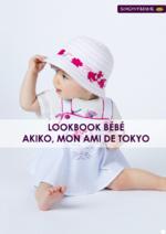 Promos et remises  : Lookbook bébé Akiko, mon ami de Tokyo