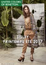 Promos et remises  : Lookbook Sisley printemps été 2017