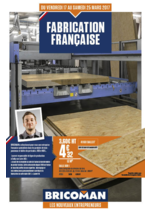 Prospectus Bricoman : Fabrication française