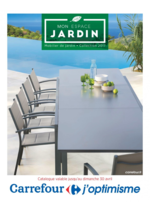 Prospectus Carrefour : Mobilier de jardin collection 2017