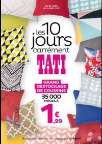 Prospectus Tati PARIS : Les 10 jours carrément TATI