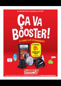 Prospectus Simply Market PARIS 7/9 boulevard des Batignolles : Ça va booster !