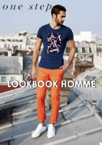 Catalogues et collections One step ST GRATIEN : Feuilletez le lookbook homme