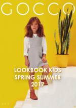 Catálogos e Coleções GOCCO : Lookbook Kids Spring Summer 2017