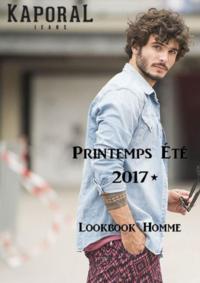 Catalogues et collections Kaporal FRANCONVILLE : Lookbook homme été 2017