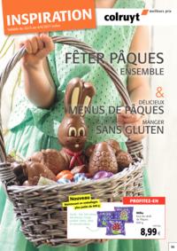 Prospectus Colruyt ANDERLECHT - VEEWEYDE : Inspiration Pâques