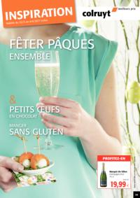 Prospectus Colruyt ALSEMBERG : Fêter Pâques Ensemble !