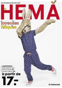 Prospectus Hema OSTENDE : Joyeuses Pâques