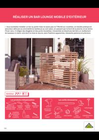 Guides et conseils Leroy Merlin Montigny-les-Cormeilles : Réaliser un bar lounge mobile