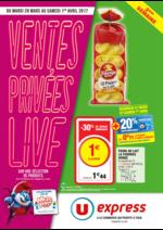 Prospectus U Express : Ventes privées live 3ème semaine