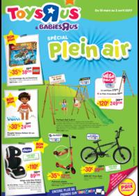 Prospectus Toys R Us AUBERVILLIERS : Spécial Plein air