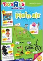 Prospectus Toys R Us : Spécial Plein air