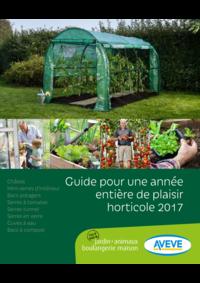 Guides et conseils AVEVE BOIS-DE-VILLERS : Guide pour une année entière de plaisir horticole 2017