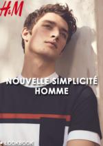 Promos et remises  : Lookbook homme Nouvelle simplicité