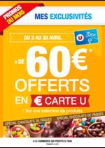 Prospectus Hyper U : + de 60€ offerts en € carte U
