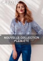 Catalogues et collections Caroll : Nouvelle collection Plein été