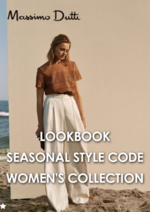 Catalogues et collections Massimo Dutti : Lookbook Seasonal Style Code - women's collection