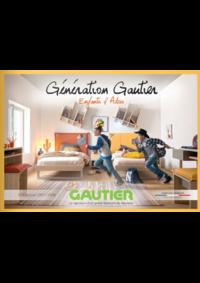 Catalogues et collections GAUTIER COURBEVOIE : Génération Gautier : Enfants & Ados 2017-2018