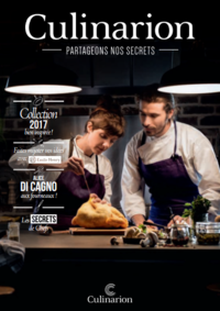 Catalogues et collections Culinarion VERSAILLES : Collection 2017