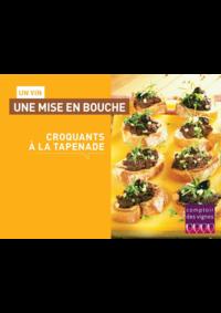 Prospectus Comptoir des vignes PARIS 17IEME : Un vin, une mise en bouche