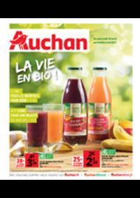Prospectus Auchan Val d'Europe Marne-la-Vallée : La vie en bio !