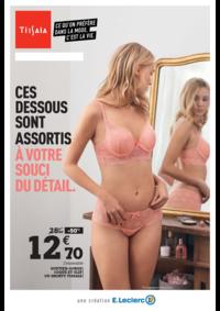 Prospectus E.Leclerc PANTIN : Rendez-vous lingerie